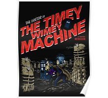 The Timey Wimey Machine Poster