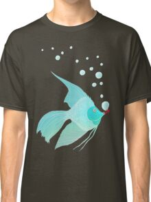 Bubble Fish Red Pipe Classic T-Shirt