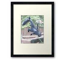 Henry, the Flying Squirrel Framed Print