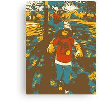BucketHeadZombie Canvas Print