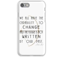 Future Changes iPhone Case/Skin