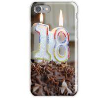 18th Birthday  iPhone Case/Skin
