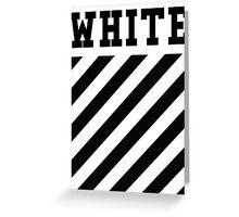 OFF-WHITE Greeting Card