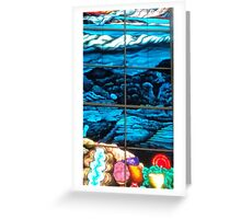 EVOLUTION OF NATURE Greeting Card
