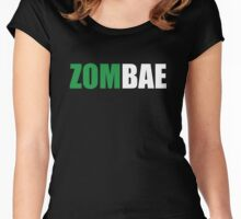 Zombae Women's Fitted Scoop T-Shirt