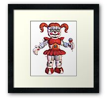 Baby - Five Nights At Freddys Sister Location  Framed Print