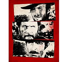 the good,the bad,and the ugly Photographic Print