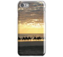 Camel Ride @ Sunset in Broome. WA. iPhone Case/Skin