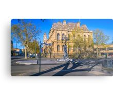 Bendigo's Newest Fountain - October 2016 Metal Print