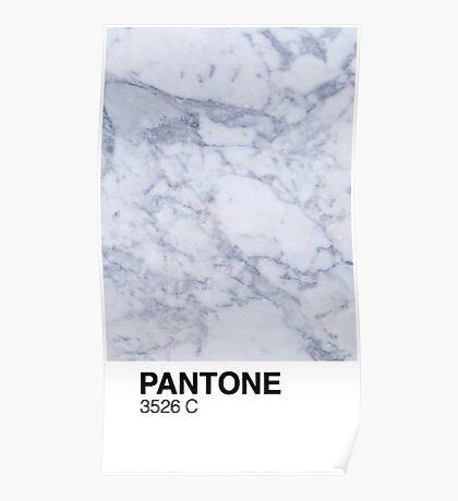 Marble Pantone  Poster