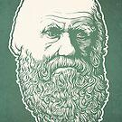 Charles Darwin by LibertyManiacs