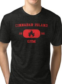 Cinnabar Island Gym Tri-blend T-Shirt