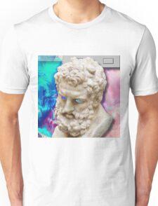 Vaporwave glitch Unisex T-Shirt