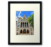 SLC City and County Building Framed Print