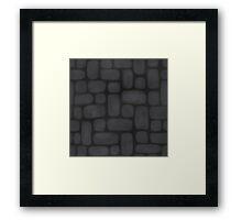 Stone Brick Framed Print