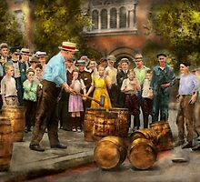 Police - Prohibition - A smashing good time 1921 by Mike  Savad