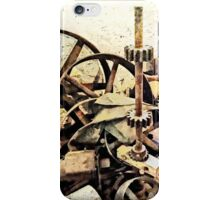 Wheels and Gears in Grist Mill iPhone Case/Skin