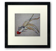 Goldfish Pond (close up #5) Framed Print