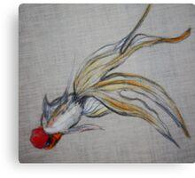 Goldfish Pond (close up #5) Canvas Print