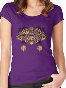 Jules Verne's  Worlds - Hetzel Inspiration Women's Fitted Scoop T-Shirt