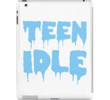 Marina and The Diamonds - Teen Idle (Blue) iPad Case/Skin