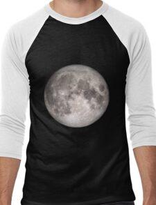 Moon BIG (see also: small) Men's Baseball ¾ T-Shirt