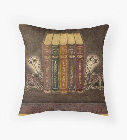 Bookends Throw Pillows & Totes Throw Pillow