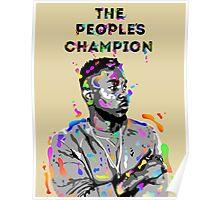 Kendrick Lamar Design Poster