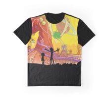 Interdimensional Rick and Morty Graphic T-Shirt