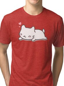 Cute and Kawaii Cat Tri-blend T-Shirt