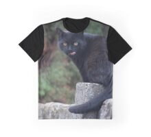 sticking out tongue Graphic T-Shirt