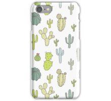 Cacti print iPhone Case/Skin