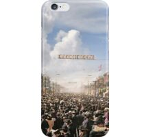 The Rex pageant, Mardi Gras Day, New Orleans, 1907 Colorized iPhone Case/Skin