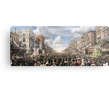 The Rex pageant, Mardi Gras Day, New Orleans, 1907 Colorized Metal Print