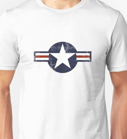 Military Roundels - United States Air Force - USAF Unisex T-Shirt