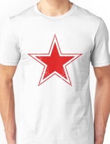 Military Roundels - USSR Red Star Unisex T-Shirt