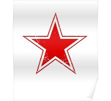 Military Roundels - USSR Red Star Poster