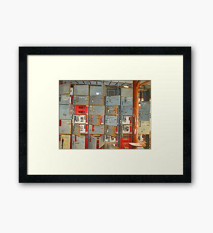 The Energy of Stateline Framed Print