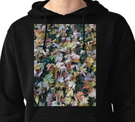 Fall Maple Leaves  Pullover Hoodie