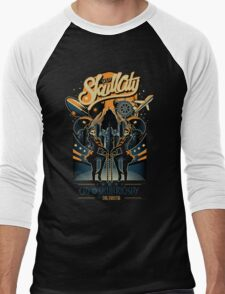 Skullcity Men's Baseball ¾ T-Shirt