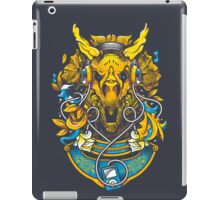 Golden Tricerapod iPad Case/Skin