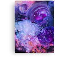 Clouds and vectors Canvas Print