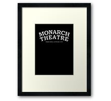 Inspired by Arkham Knight - Monarch Theatre Framed Print