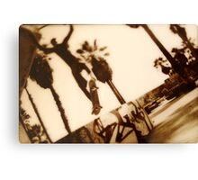 Venice launch Canvas Print