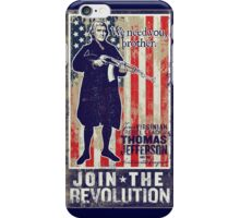 Jefferson Revolution Propaganda iPhone Case/Skin