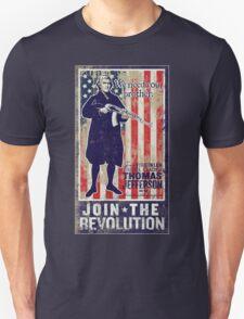 Jefferson Revolution Propaganda T-Shirt