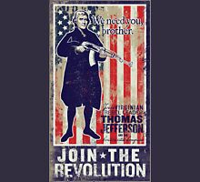 Jefferson Revolution Propaganda Unisex T-Shirt