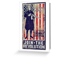 Jefferson Revolution Propaganda Greeting Card