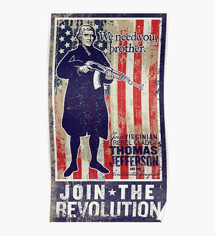 Jefferson Revolution Propaganda Poster