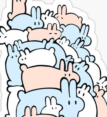 Bun Pile! Sticker